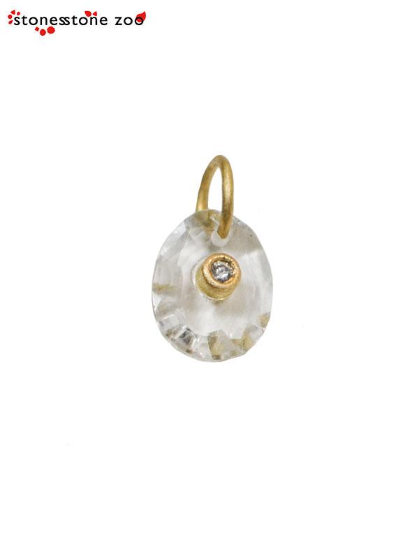 """画像1: 【Stones Stone Zoo - ストーンズ ストーン ズー】""""DIAMOND"""" PENDANT / Crystal(ペンダント/クリスタル) (1)"""