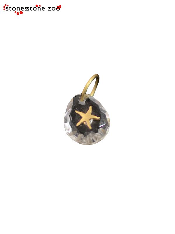 """画像1: 【Stones Stone Zoo - ストーンズ ストーン ズー】""""STAR"""" PENDANT / Crystal(ペンダント/クリスタル) (1)"""