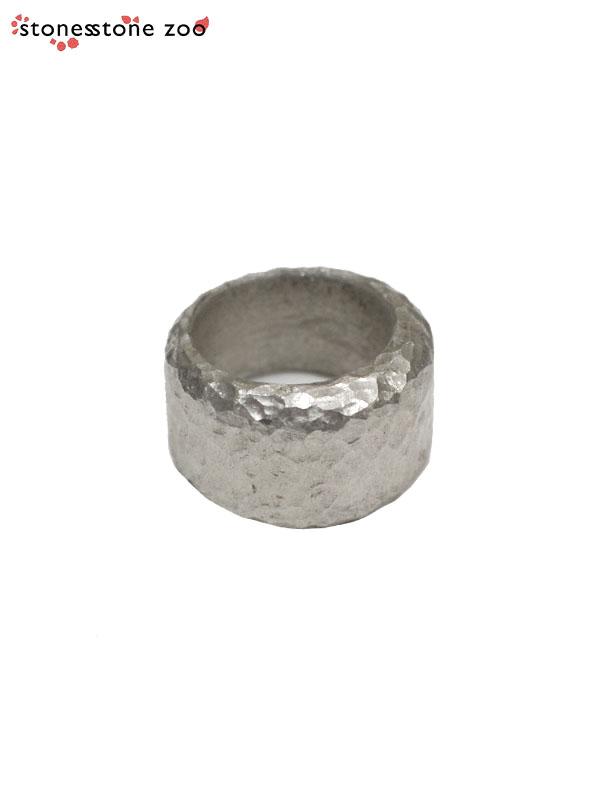 画像1: 【Stones Stone Zoo - ストーンズ ストーン ズー】SILVER RING / HAMMERED(リング/ハンマード) (1)