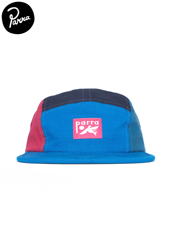 画像1: 【by Parra - バイ パラ】Bird dodging ball 5 panel volley hat / Blue(キャップ/ブルー) (1)