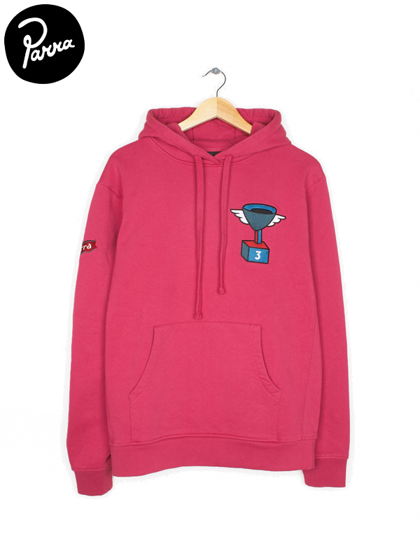画像1: 【by Parra - バイ パラ】3rd prize cup winner hooded sweater / Purplepink(パーカー/パープルピンク)  (1)