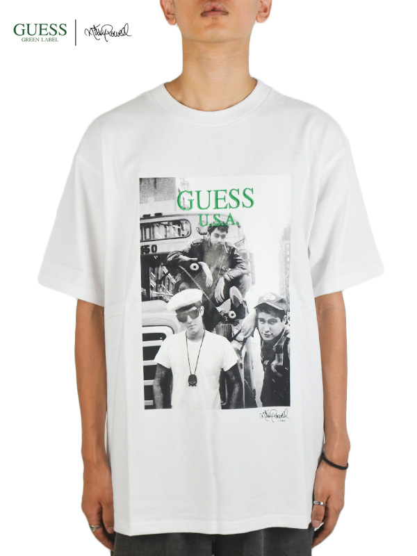 画像1: 【GUESS GREEN LABEL × Ricky Powell】Beastie Boys S/S Tee P1 / White (Tシャツ/ホワイト) (1)