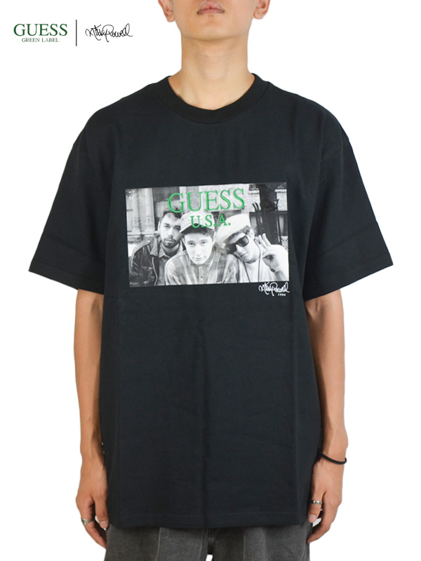 画像1: 【GUESS GREEN LABEL × Ricky Powell】Beastie Boys S/S Tee P2/ Black (Tシャツ/ブラック) (1)