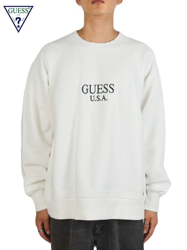 画像1: 【GUESS GREEN LABEL × Ricky Powell】Beastie Boys SW  P3/ White (スウェット/ホワイト) (1)