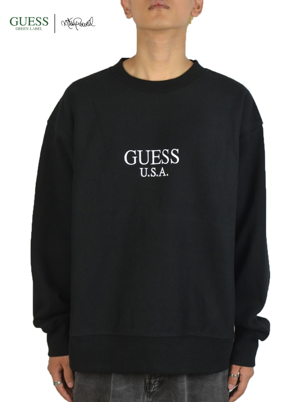 画像1: 【GUESS GREEN LABEL × Ricky Powell】Beastie Boys SW  P3/ Black(スウェット/ブラック) (1)