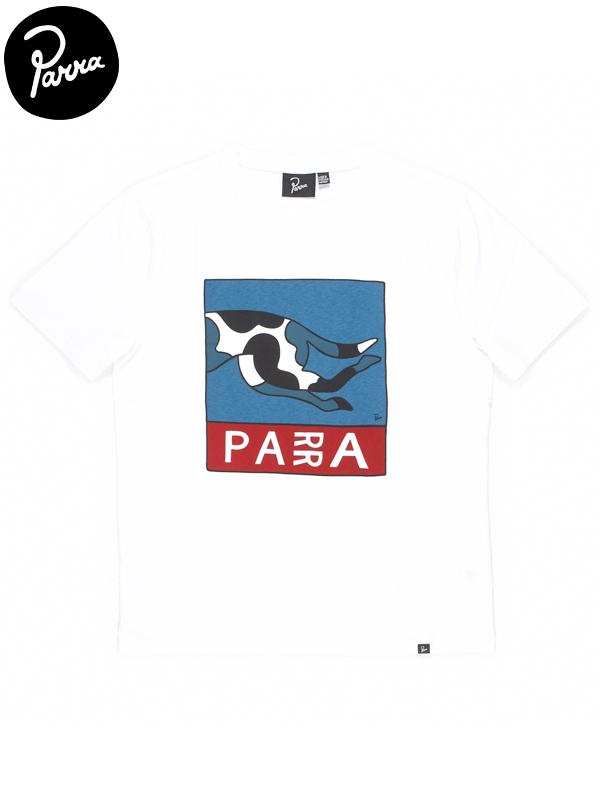 画像1: 【by Parra - バイ パラ】Escaping you t-shirt / White(Tシャツ/ホワイト) (1)