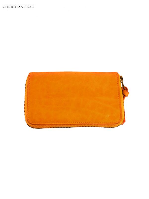 """画像1: 【Christian Peau - クリスチャンポー】B004 Wallet S """"Cow Leather"""" / Yellow(ウォレット/イエロー) (1)"""