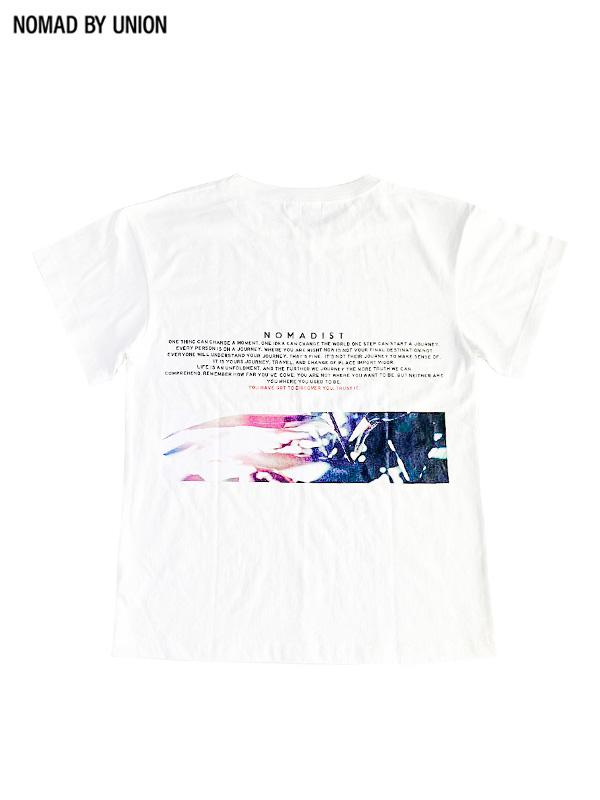 画像1: 【NOMAD BY UNION - ノバド バイ ユニオン】BOTANICAL S/S Tee / White(Tシャツ/ホワイト) (1)