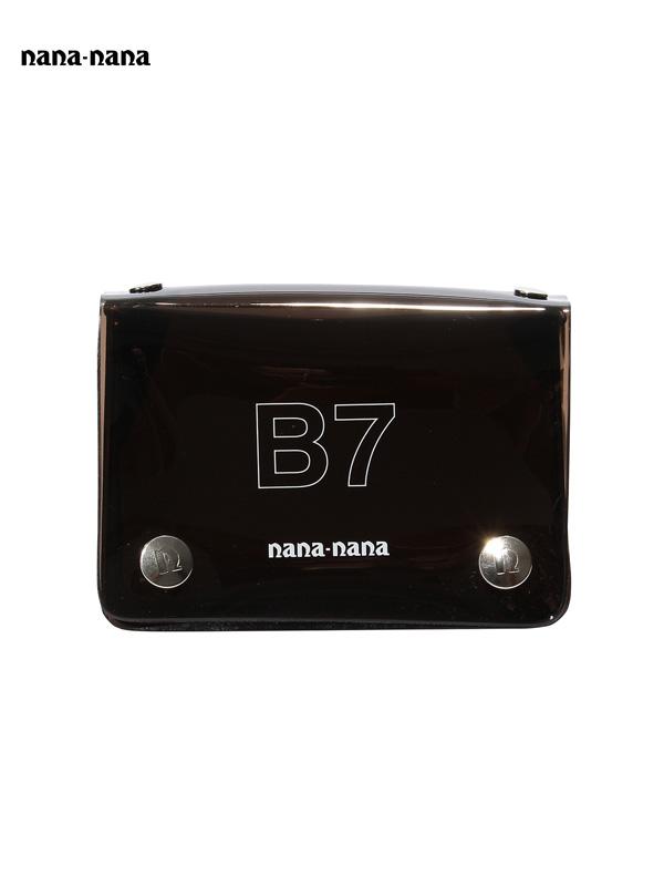 画像1: 【nana-nana - ナナ ナナ】B7 Clear Bag / Black (ショルダーバッグ/ブラック) (1)