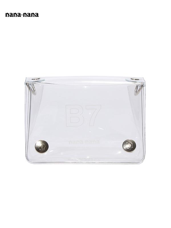 画像1: 【nana-nana - ナナ ナナ】B7 Clear Bag / Clear (ショルダーバッグ/クリア) (1)