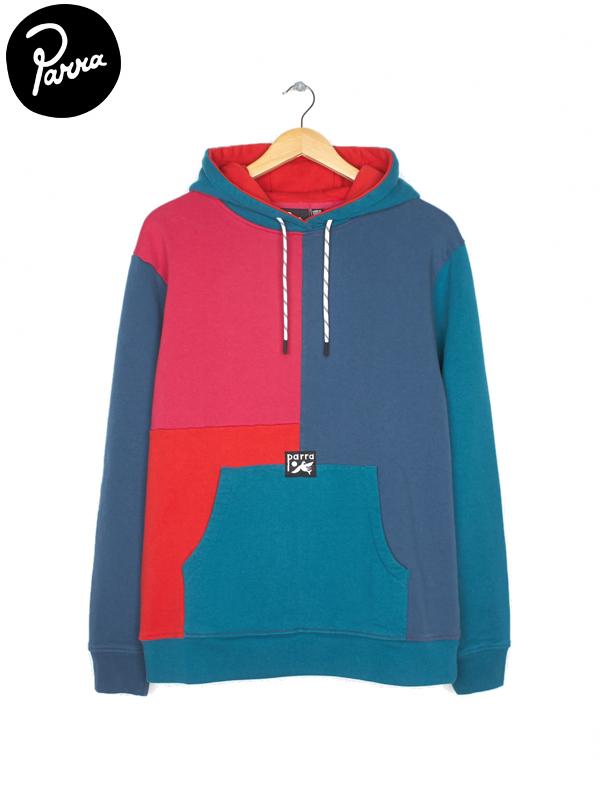 画像1: 【by Parra - バイ パラ】colorblocked hooded sweater / multi(パーカー/マルチ)  (1)