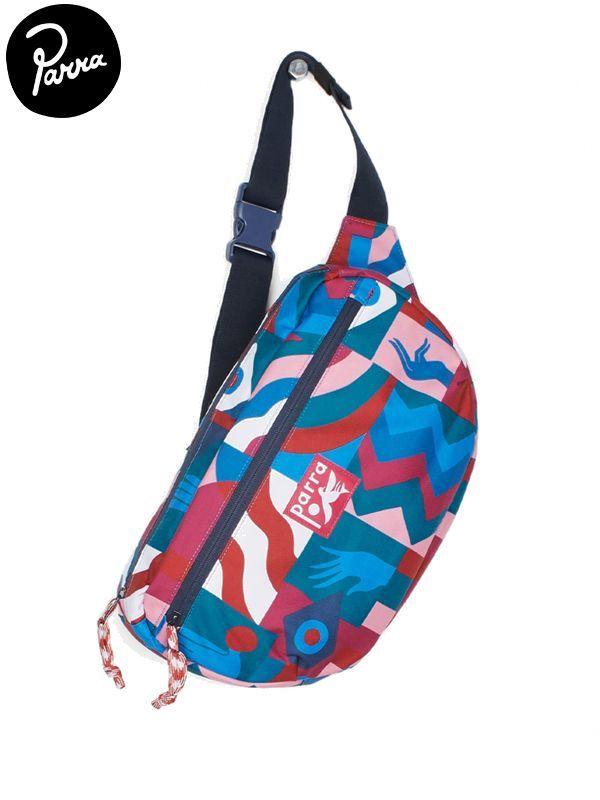 画像1: 【by Parra - バイ パラ】grab the frag pattern waist bag / multi(バッグ/マルチ) (1)