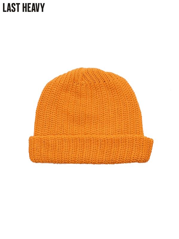 画像1: 【LAST HEAVY - ラストヘビー】Knit Cap / Safety Orange(ニットキャップ/オレンジ) (1)