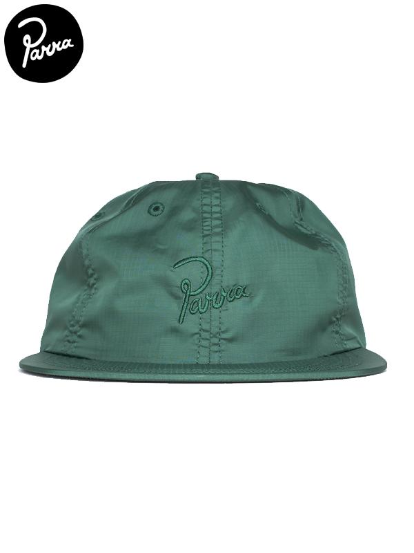画像1: 【by Parra - バイ パラ】Signature 6 panel ripstop hat / Green(キャップ/グリーン) (1)