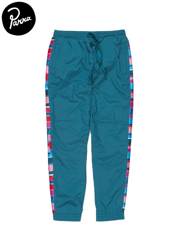 画像1: 【by Parra - バイ パラ】Premium Stripes Track Pants / Green(トラックパンツ/グリーン) (1)