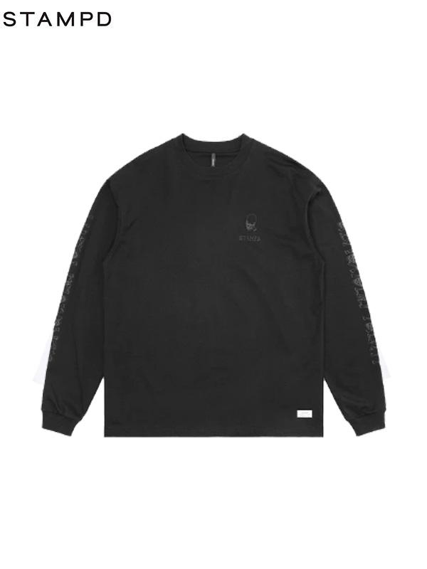 画像1: 【STAMPD - スタンプド】OBNOXIOUS YOUTH LS TEE / Black(Tシャツ/ブラック) (1)