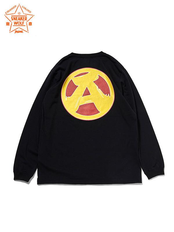 """画像1: 【The Wolf In Sheep's Clothing】""""PANX"""" L/S TEE / Black(Tシャツ/ブラック) (1)"""