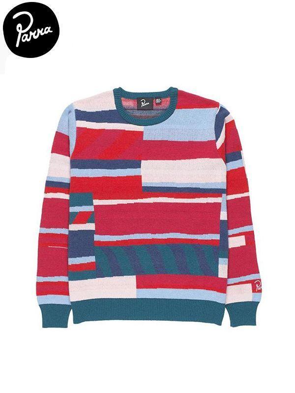 画像1: 【by Parra - バイ パラ】Premium satripesknitted pullover/ Multi(セーター/マルチ) (1)