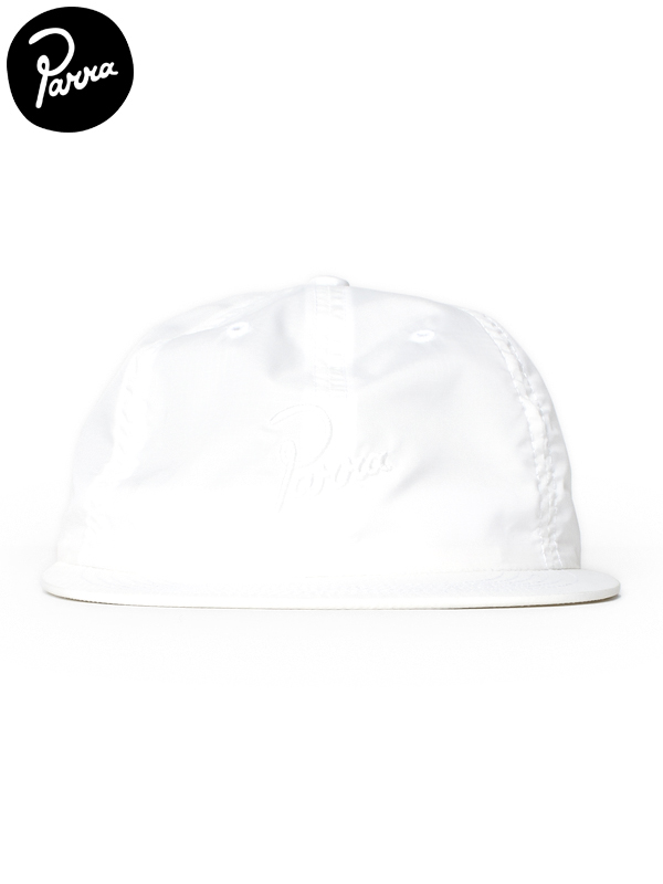 画像1: 30%OFF【by Parra - バイ パラ】Signature 6 panel ripstop hat / White(キャップ/ホワイト) (1)