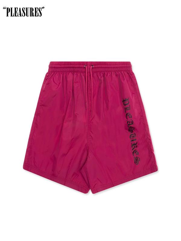 画像1: 50%OFF【PLEASURES】Cult Shorts / Pink (ショーツ/ピンク) (1)