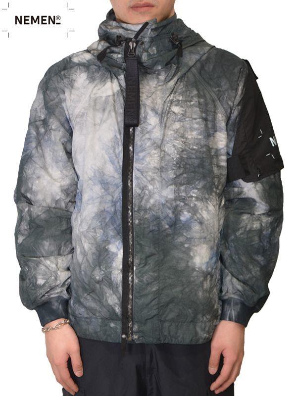 画像1: 【NEMEN - ネーメン】Woven Jacket Twist Smock / Grey (ジャケット/グレー) (1)