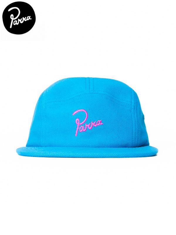 画像1: 30%OFF【by Parra - バイ パラ】signature volley hat / Caribbian(キャップ/カリビアン) (1)