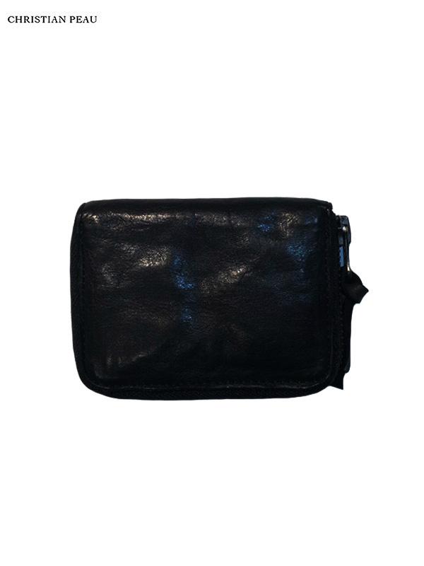 """画像1: 【Christian Peau - クリスチャンポー】5130 CP S """"Cow Leather"""" / Black(ウォレット/ブラック) (1)"""