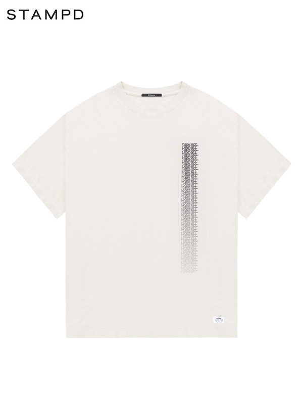 画像1: 40%OFF【STAMPD - スタンプド】Fuck Off Drag SS Box Tee / Beige (Tシャツ/ベージュ) (1)