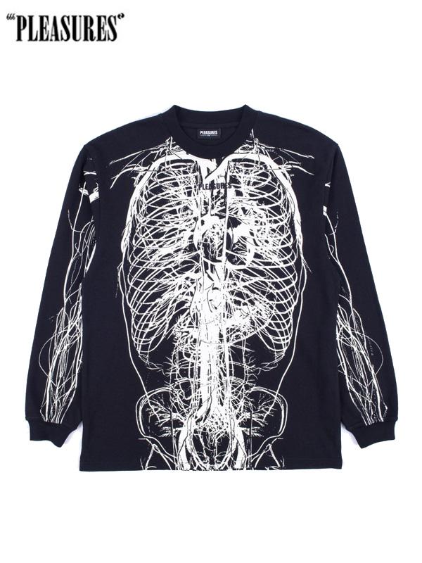 画像1: 20%OFF【PLEASURES - プレジャーズ】Nervous L/S Shirt / Black (カットソー/ブラック) (1)
