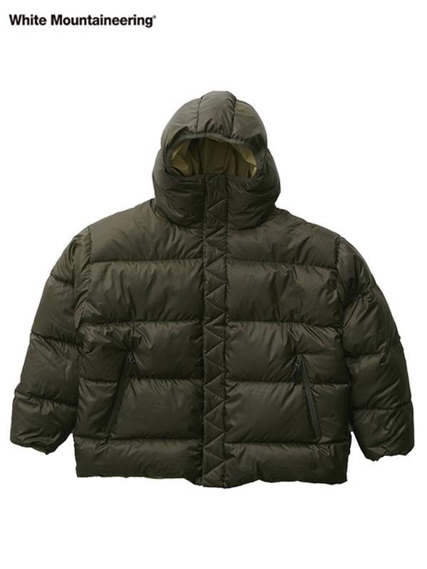 画像1: 20%OFF【White Mountaineering - ホワイトマウンテニアリング】Reversible Down Jacket / Khaki (ジャケット/カーキ) (1)