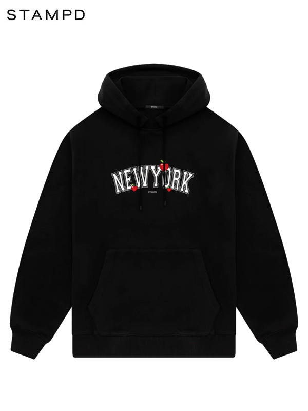 画像1: 【STAMPD - スタンプド】New York Love Hoodie / Black (パーカー/ブラック) (1)