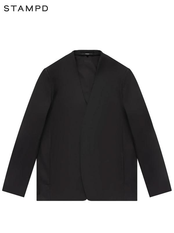 画像1: 【STAMPD - スタンプド】Unstructured Brand Blazer / Black (ジャケット/ブラック) (1)