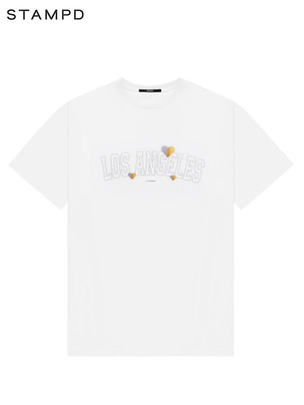 画像1: 【STAMPD - スタンプド】Los Angels Tee / White (Tシャツ/ホワイト) (1)