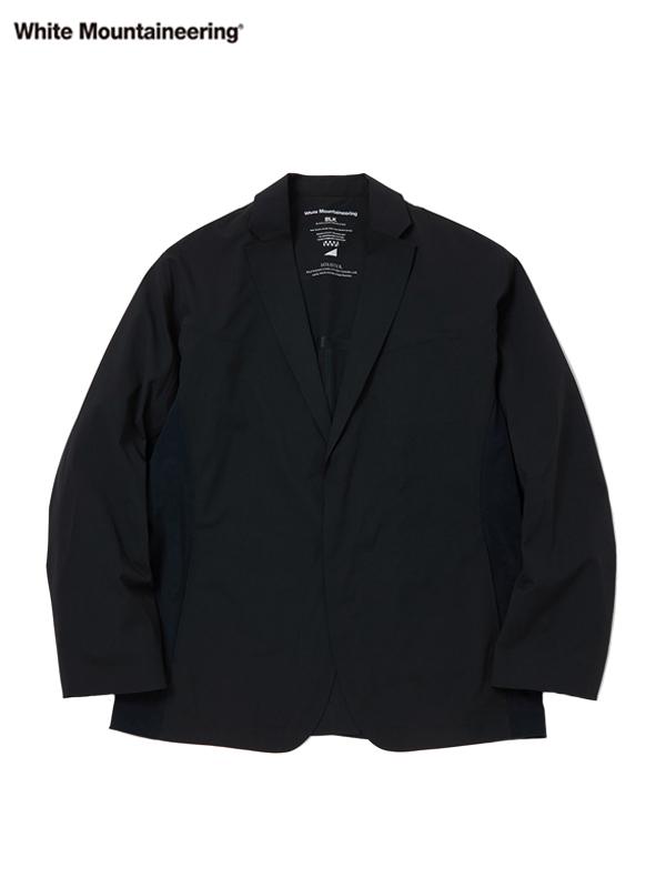 画像1: 【White Mountaineering - ホワイトマウンテニアリング】Solotex Lapel Jacket  / Black (ジャケット/ブラック) (1)