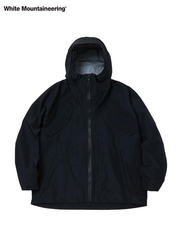 画像1: 【White Mountaineering - ホワイトマウンテニアリング】Gore-Tex Mountain Parka  / Black (ジャケット/ブラック) (1)