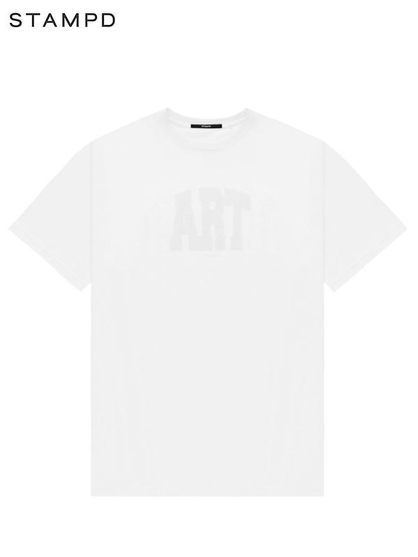 画像1: 【STAMPD - スタンプド】Earth Tee / White (Tシャツ/ホワイト) (1)