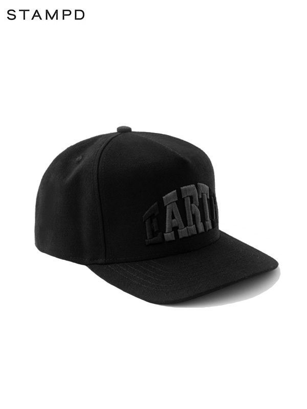 画像1: 30%OFF【STAMPD - スタンプド】Earth Trucker Snapback / Black (キャップ/ブラック) (1)