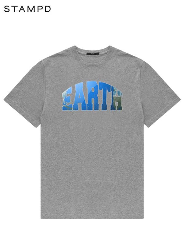 画像1: 【STAMPD - スタンプド】Earth Tee / Grey (Tシャツ/グレー) (1)