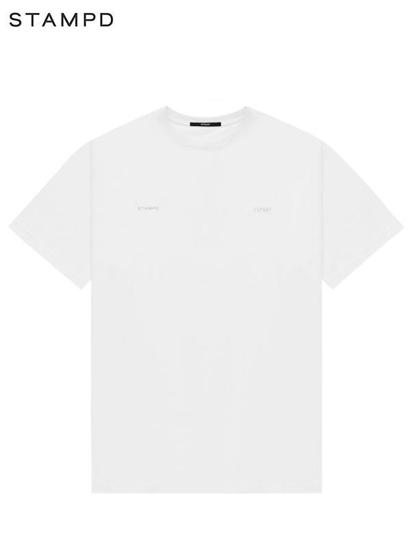 画像1: 【STAMPD - スタンプド】Ssport Reflective Tee / White (Tシャツ/ホワイト) (1)