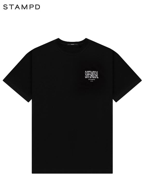 画像1: 【STAMPD - スタンプド】Surfsandsail Tee / Black (Tシャツ/ブラック) (1)