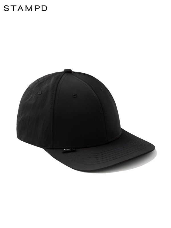 画像1: 30%OFF【STAMPD - スタンプド】Ssport Cap / Black (キャップ/ブラック) (1)