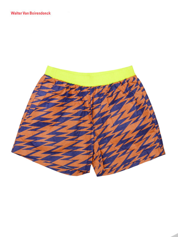 画像1: 【 Walter Van Beirendonck- ウォルターバンベイレンドンク】LT CmbB / Bsic Shorts / Orange (ショーツ/オレンジ)  (1)