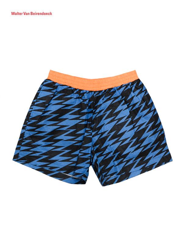 画像1: 【 Walter Van Beirendonck- ウォルターバンベイレンドンク】LT CmbB / Bsic Shorts / Blue (ショーツ/ブルー)  (1)