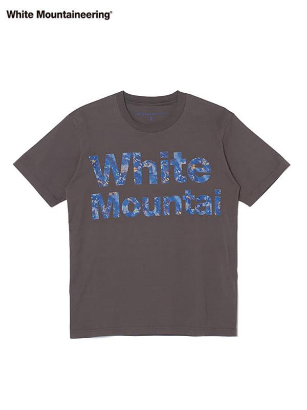 画像1: 30%OFF【White Mountaineering - ホワイトマウンテニアリング】TIE DYE LOGO PRINTED T-SHIRT / GRAY (T-シャツ/グレー) (1)