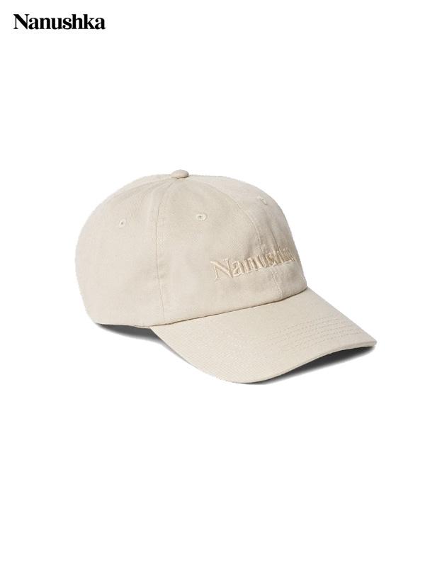 画像1: 【NANUSHKA - ナヌーシュカ】VAL BASEBALL CAP / CREAM(キャップ/クリーム) (1)