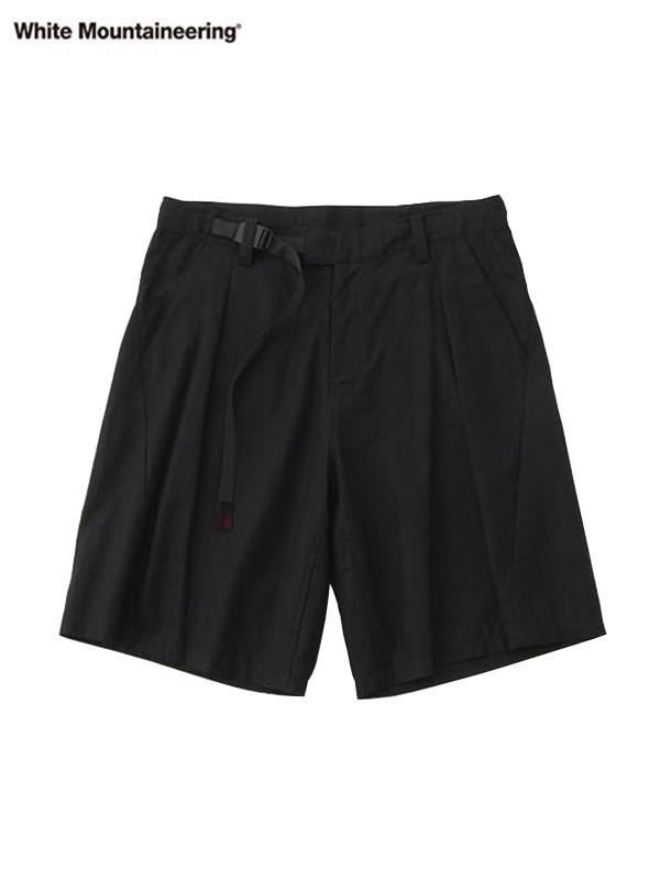 画像1: 30%OFF【White Mountaineering - ホワイトマウンテニアリング】WM × GRAMICCI DARTED SHORT PANTS/ BLACK (パンツ/ブラック) (1)