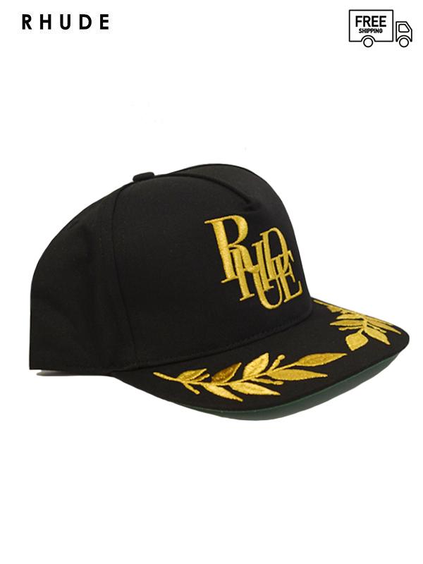 画像1: 【RHUDE - ルード】Rhude Podium Hat / Black (キャップ/ブラック)  (1)
