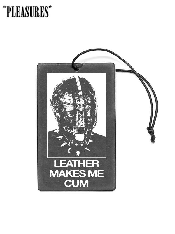 画像1: 【PLEASURES - プレジャーズ】Leatherface Air Freshener / Black (アクセサリー/ブラック) (1)