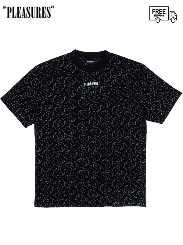 画像1: 【PLEASURES - プレジャーズ】Ying Heavyweight Tee / Black (Tシャツ/ブラック) (1)