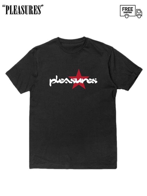 画像1: 【PLEASURES - プレジャーズ】Vibration Tee / Black (Tシャツ/ブラック) (1)